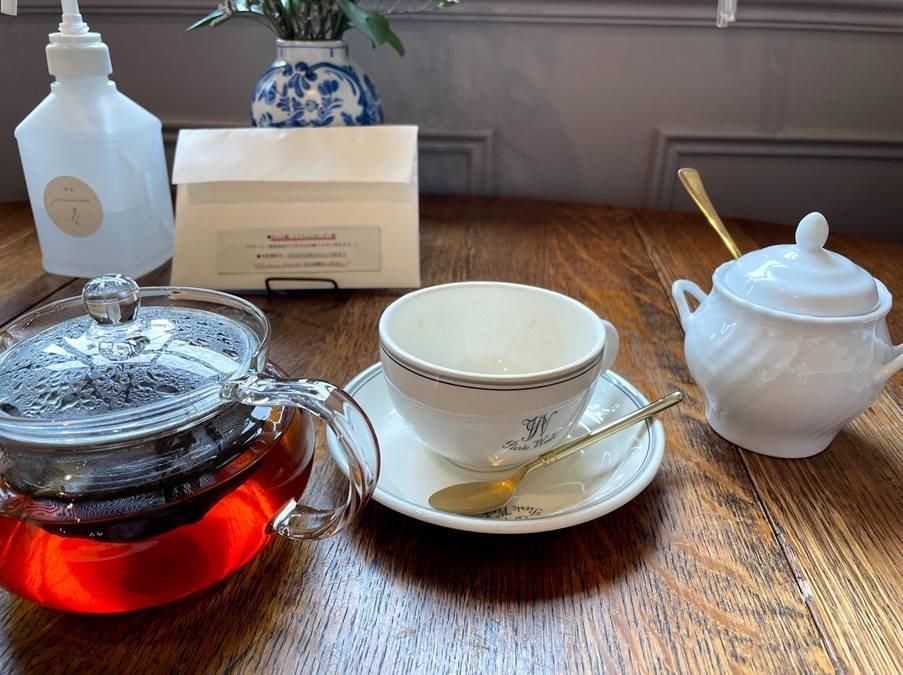日替わりの紅茶