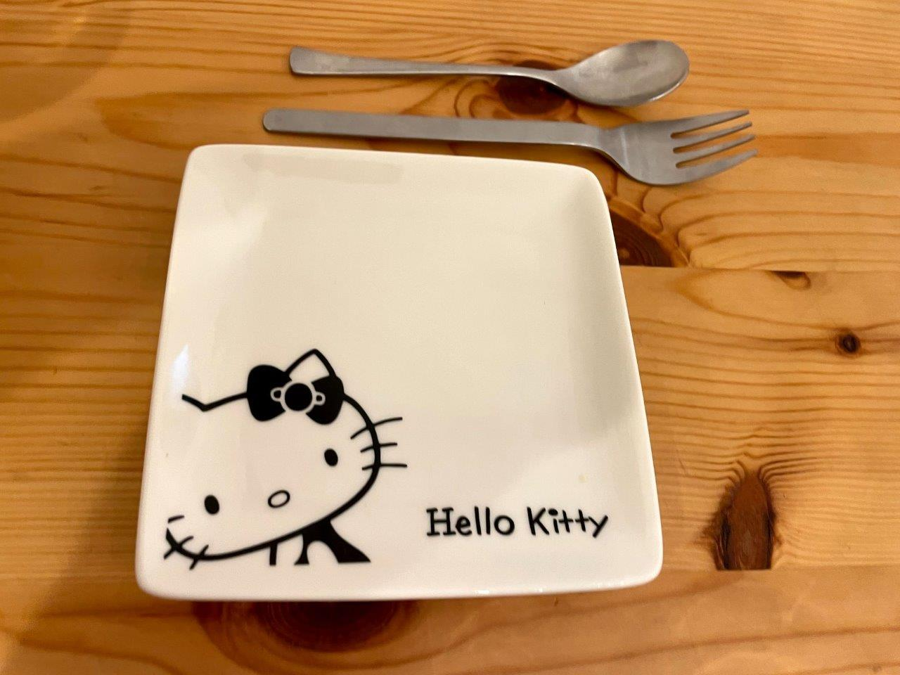 ハローキティの小皿