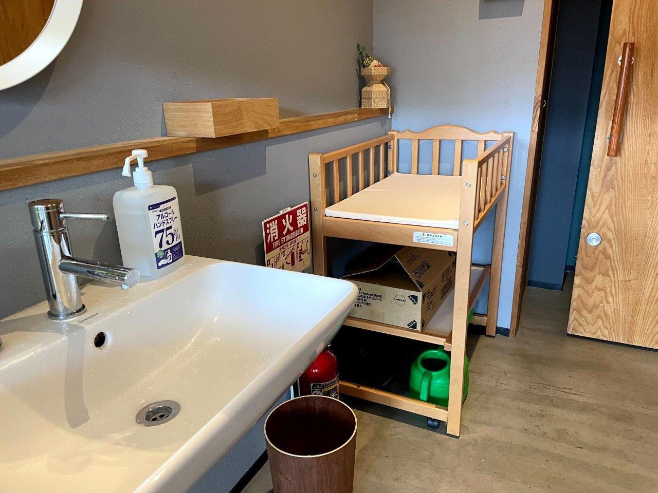 喫茶と美容室 茶の間の店内