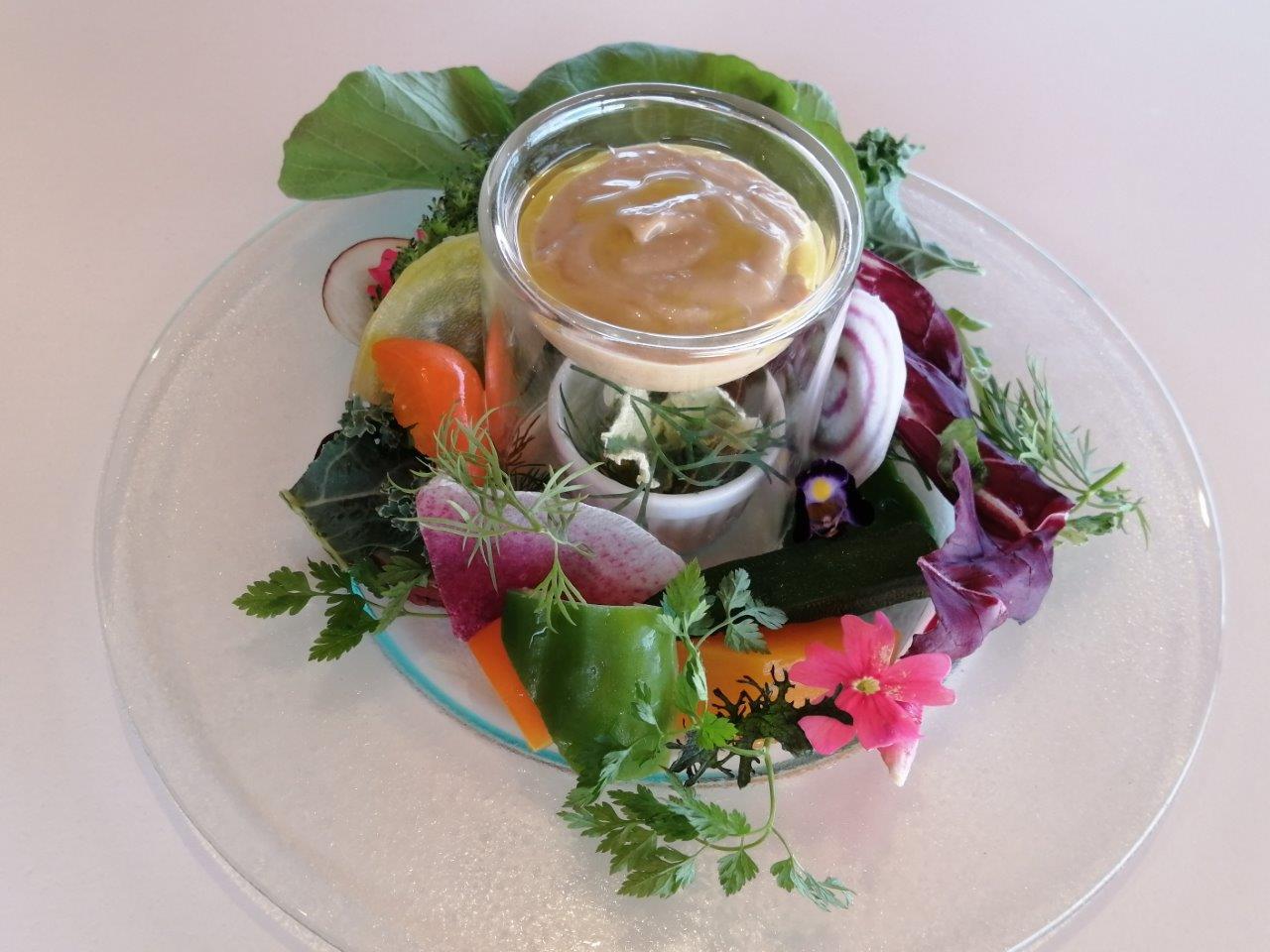 さいたま産ヨーロッパ野菜のバーニャカウダ