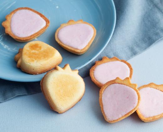 あまおうタルトクッキー